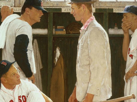 Norman Rockwell Red Sox Painting Could Go for $30 Million