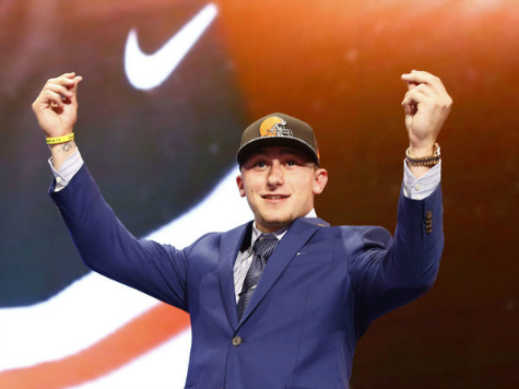 QB Johnny Manziel Texted Browns, 'Hurry Up and Draft Me'