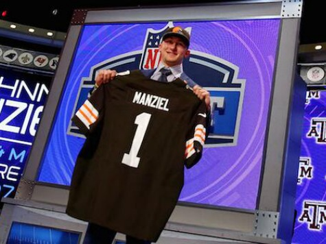 Homeless Man Reportedly Convinces Browns to Draft Manziel After Team Spends $100K on QB Study