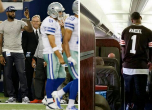 LeBron Upset Cowboys Bypassed Johnny Football