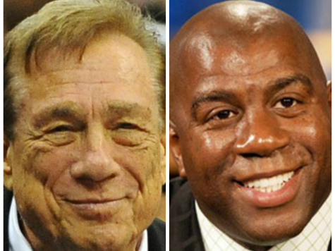 Magic Johnson: Donald Sterling Wanted Me to Be His Prop in Barbara Walters Interview
