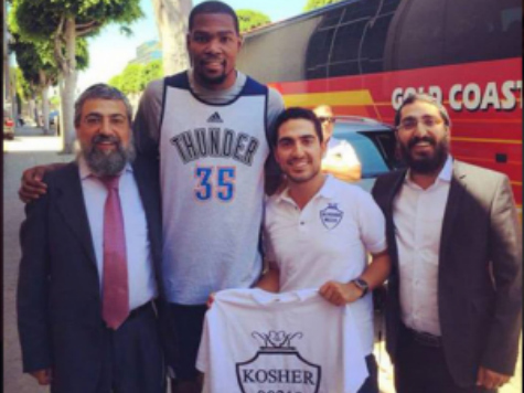 Divine Intervention? Kevin Durant Receives Triple Jewish Blessing Before Beating the Clippers