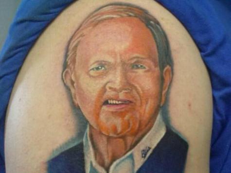 Football Fan Inks Tattoo of Buffalo Bills Late Owner on Right Arm