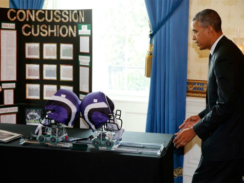 Barack Obama: I'm 'Sure' I Probably Got Concussions Playing Football