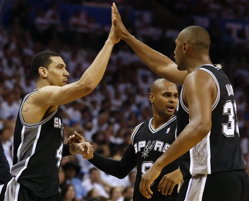 Spurs Beat Thunder in OT, Advance to NBA Finals