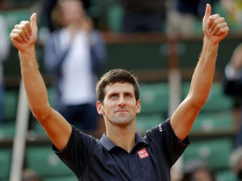 Novak Djokovic, #2, Ernests Gulbis, #18 Advance to French Open Semi-Finals