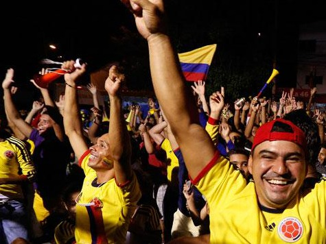 Colombian Fans Travel to World Cup, Skip Presidential Election