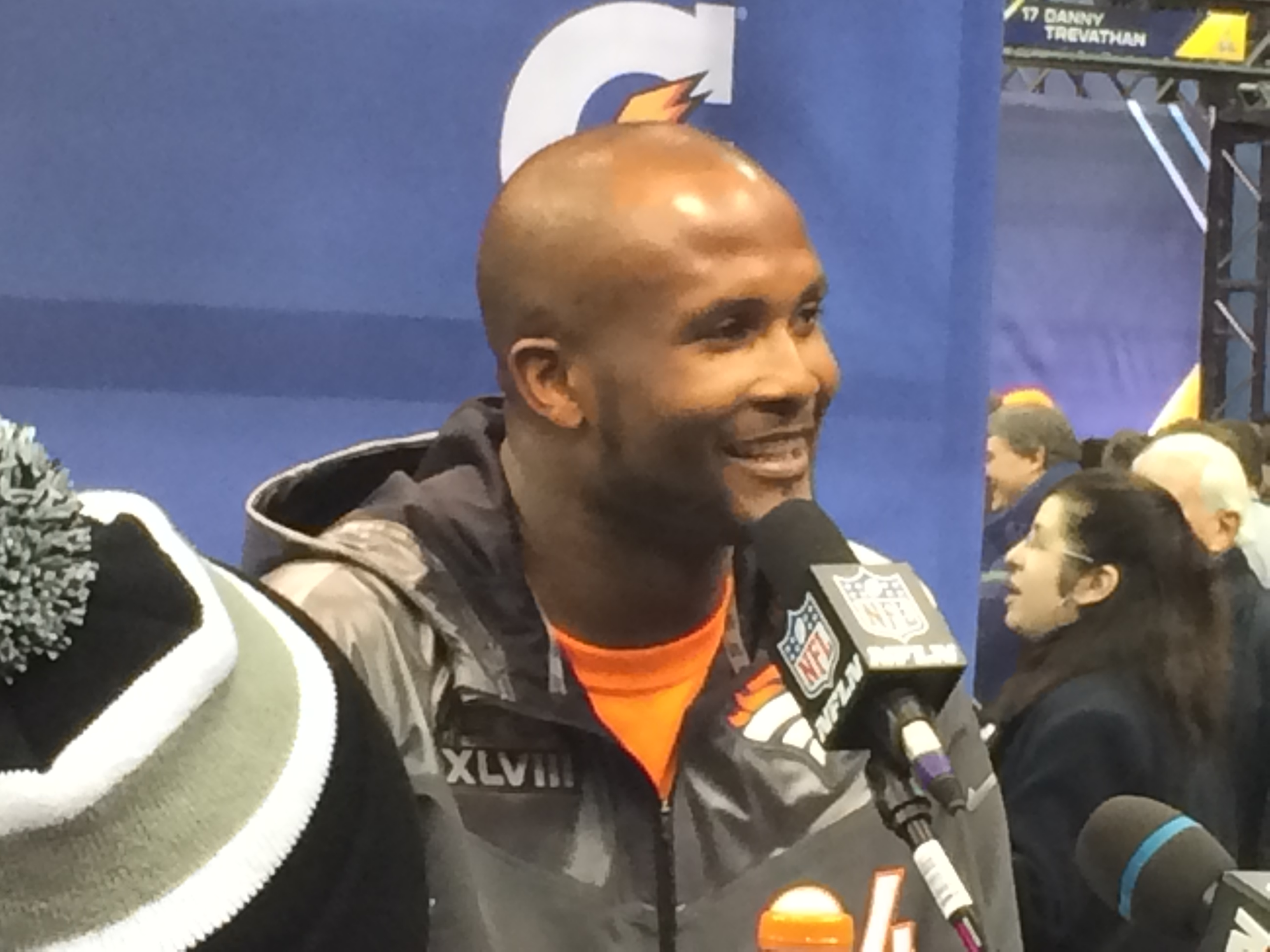 Champ Bailey Joins Chorus Decrying 'Redskins' Name