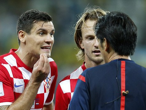 Home Cooking: Croatian Players Lash Out at Officials After Loss to Brazil