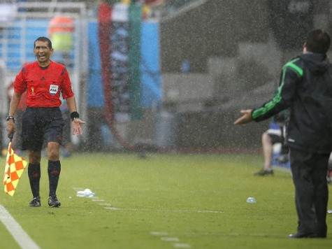 FIFA Sends Assistant Referee Home After Two Blown Calls