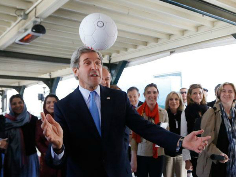 Soccer Diplomacy: John Kerry Dubs Sports 'a Very Strong Language' at World Cup