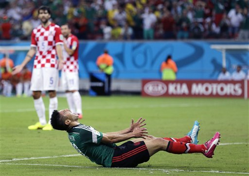 Mexico Beats Croatia 3-1, Advances in World Cup