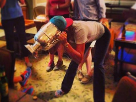 Michelle Wie Twerks, Drinks, Flips the Bird After Winning U.S. Open