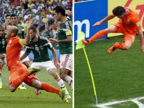 'Flying Dutchmen' Alive in World Cup After Controversy: Did Robben Admit He Dove?