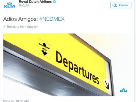 Dutch Airline Apologizes After 'Adios Amigos' Tweet Enrages Mexicans After World Cup Win