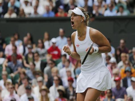 Angelique Kerber Ousts Maria Sharapova at Wimbledon