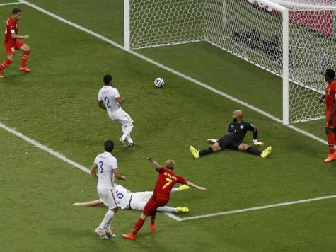 Huffington Post's 'Nightmare' Story: USA Loses to Belgium in World Cup