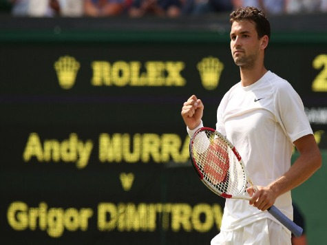 Grigor Dimitrov Ousts Defending Wimbledon Champ Andy Murray