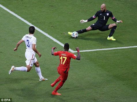 FIFA 'Randomly' Drug Tests  Tim Howard After Record-Breaking Performance