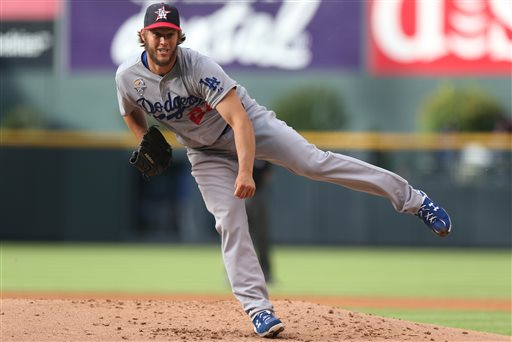 Kershaw Shuts Down Rockies in 9-0 Win, Extends Scoreless Streak to 36 Innings
