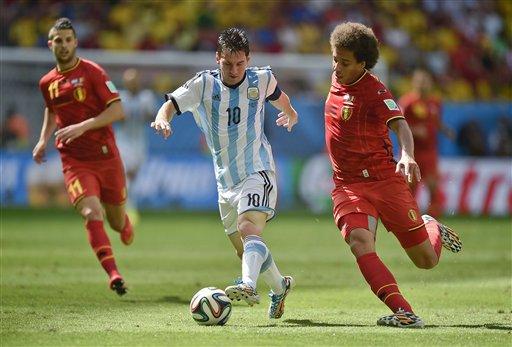 Argentina Beats Belgium 1-0 to Reach Semis