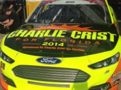 NASCAR Team Yanks Charlie Crist Sponsorship
