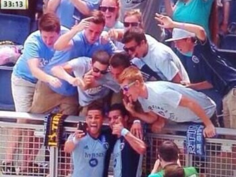 MLS Player Gets Yellow Card for Taking Selfie with Fans After Scoring Goal