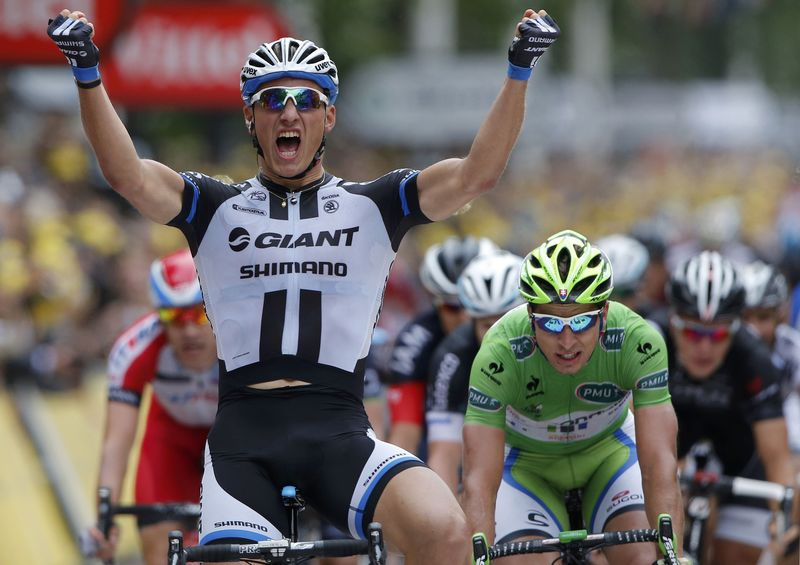 Kittel Makes It Two Tour de France Stage Wins in Three Days