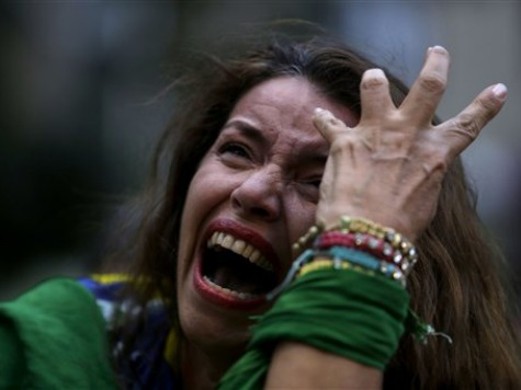 Brazilian Fans in Tears While Germany Humiliates Host Nation