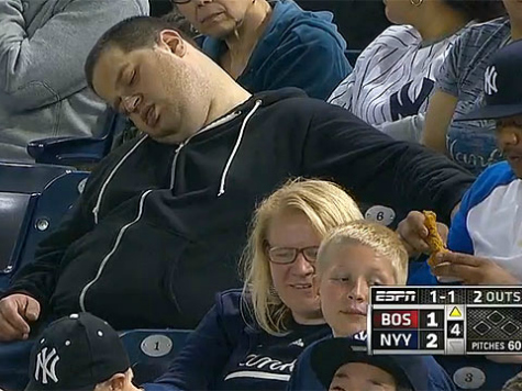 Sleeping Man at Yankee Stadium Prompts $10 Million Defamation Suit