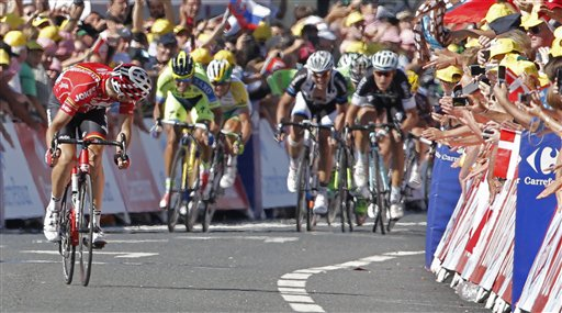 Gallopin Wins Tour de France Stage 11