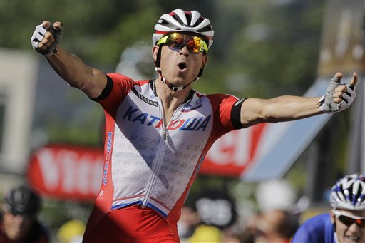 Kristoff Wins 12th Tour Stage, Nibali Keeps Lead