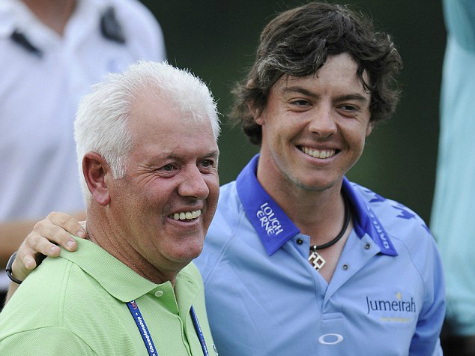Rory McIlroy's Dad Wins $340K on Decade-Old Bet on Son