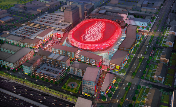 Red Wings Unveil New Arena with a Taxpayer Assist