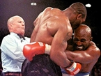 Tyson Presents Holyfield for Nevada Boxing Hall of Fame Induction