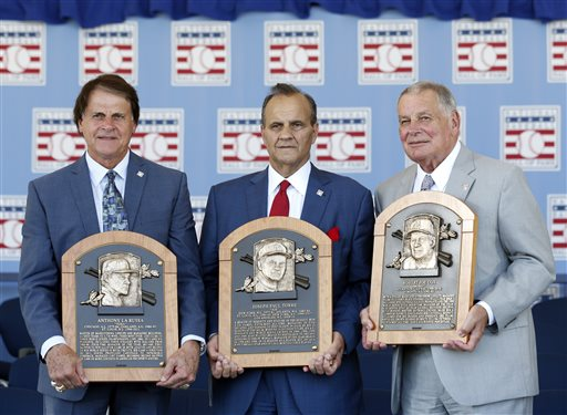 By George! Joe Torre Forgets Old Boss in Hall of Fame Speech