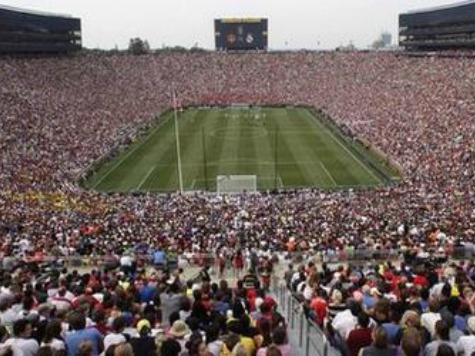 109K Fans for Real Madrid-Man U Set Attendance Record for Soccer Match in US
