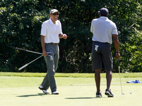 Obama Golfs Again on Vacation