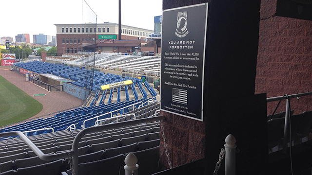 Kansas City Royals Affiliate Honors Military with Special Stadium Seat