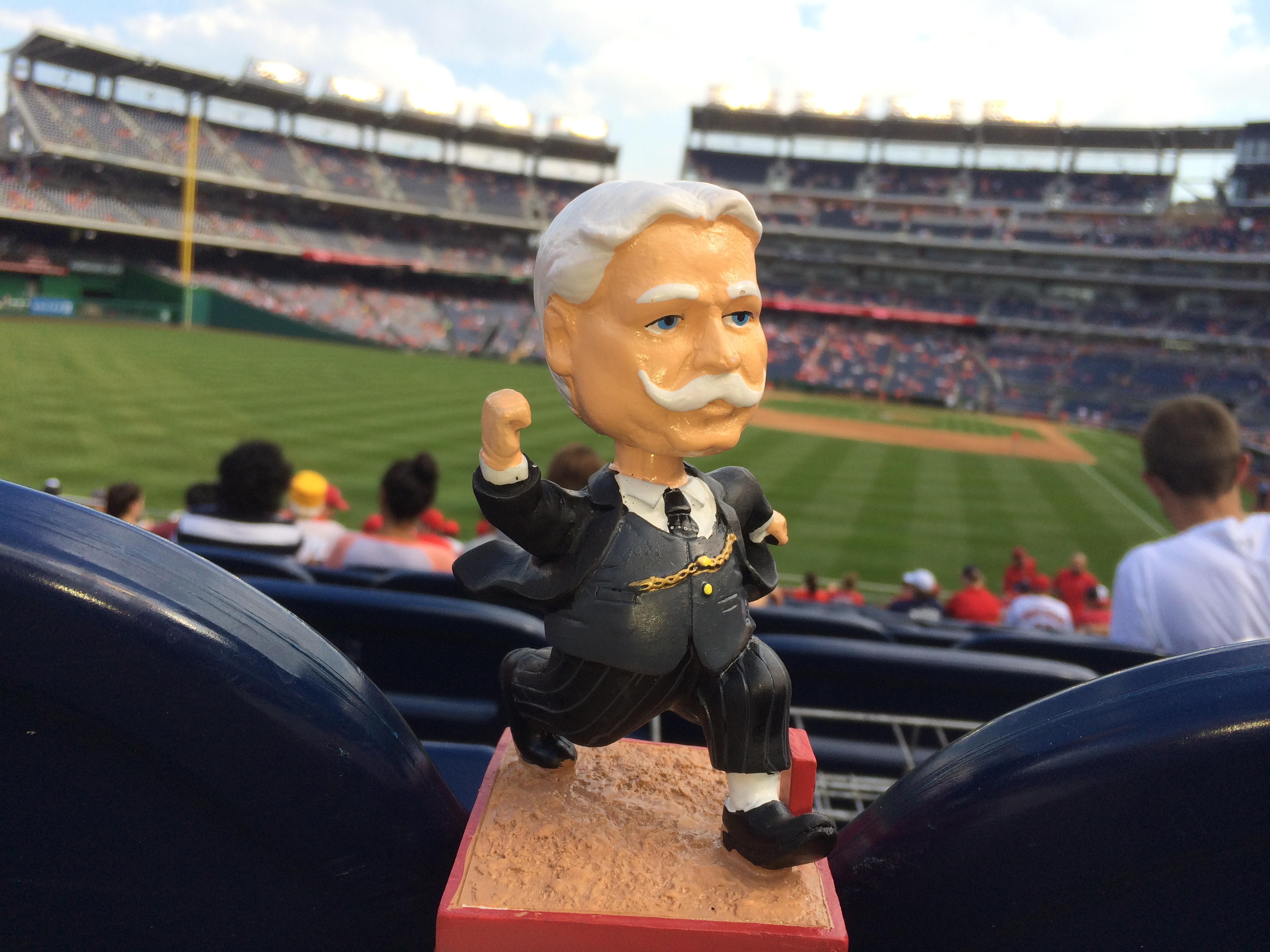 101 Years in the Making: Bill Taft Bobblehead Night Huge at Nationals Park