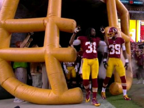 Redskins D-Backs Place 'Hands Up' in Homage to Slain Teen Michael Brown