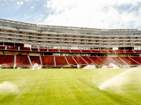 49ers Tear Up Grass at Brand New $1.3 Billion Levi's Stadium
