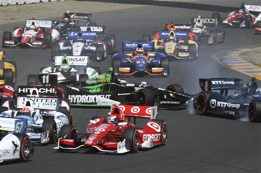 Scott Dixon Gets Dramatic Sonoma IndyCar Win After Earthquake