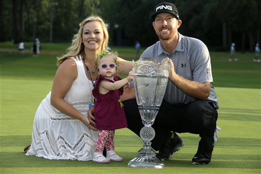 Hunter Mahan Wins Opening FedEx Cup Playoff Event