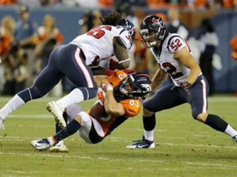 Tracker: 66 NFL Concussions So Far in Preseason