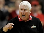 Bob Knight Unhurt After Driving into Cow