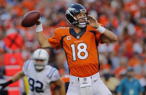 Broncos Hold on to Beat Colts 31-24