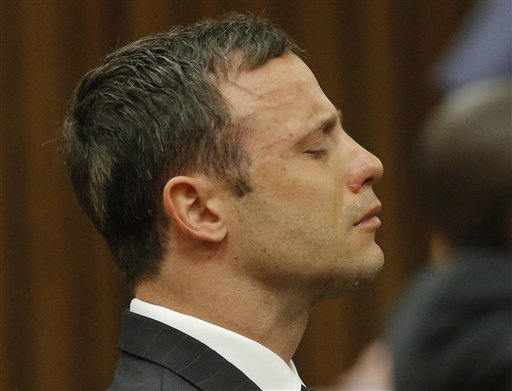 Judge: Pistorius Can't Be Found Guilty of Murder
