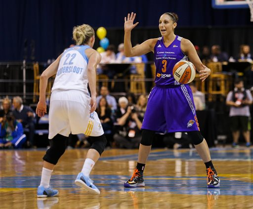 Mercury Finish Sweep of Sky for Third WNBA Title