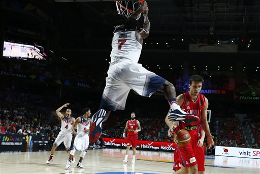 USA Wins Basketball Worlds, 129-92 over Serbia